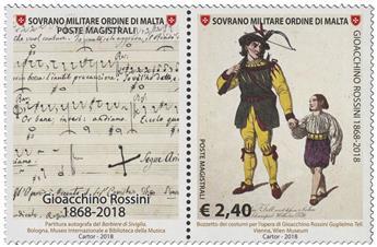 n° 1470 - Timbre ORDRE de MALTE Poste