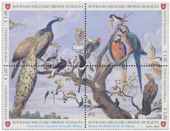 n° 1466/1469 - Timbre ORDRE de MALTE Poste