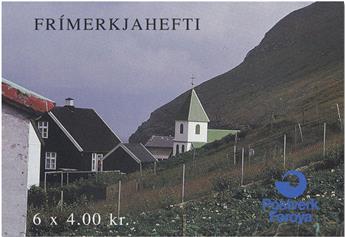 n° C243 - Timbre FEROE Carnet