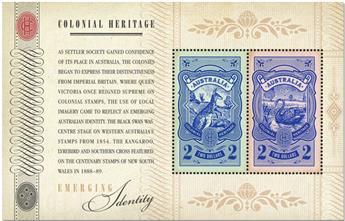 n° 146 - Timbre AUSTRALIE Blocs et feuillets
