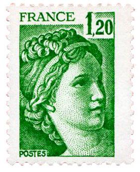 n°2101a** - Timbre FRANCE Poste