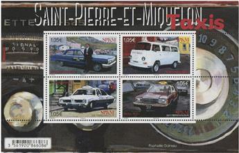 n° F1222 - Timbre Saint-Pierre et Miquelon Poste