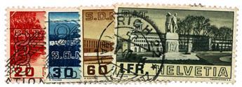 n°307/310 obl. - Timbre SUISSE Poste