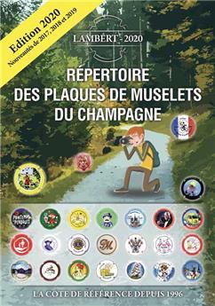 Répertoire des plaques de muselets du champagne 2020 (LAMBERT)