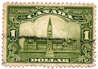 n°139 obl. - Timbre CANADA Poste