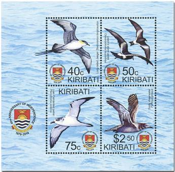 n° 68 - Timbre KIRIBATI Blocs et feuillets