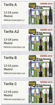 n° 157 - Timbre ESPAGNE Timbres de distributeurs