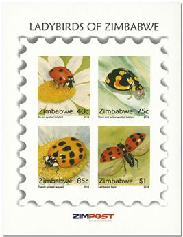 n° 36 - Timbre ZIMBABWE Blocs et feuillets
