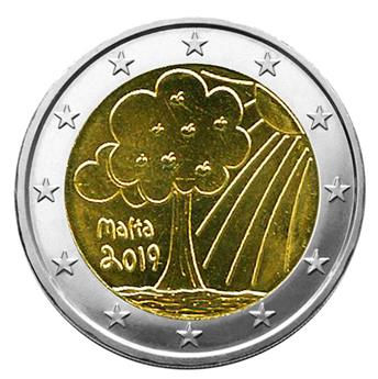 €2 COMMEMORATIVE COIN 2015 : MALTA