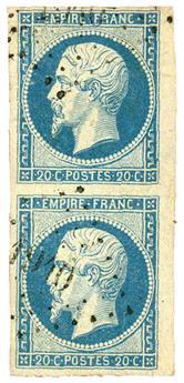 n°14Af obl. TB - Timbre FRANCE Poste