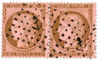 n°58 obl. B/TB - Timbre FRANCE Poste