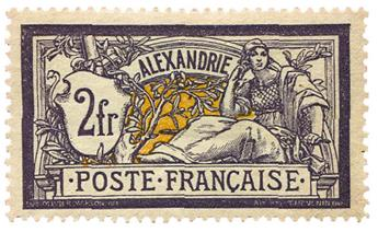 n°32* - Timbre ALEXANDRIE Poste