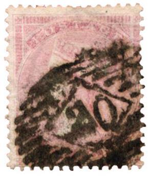 n°18 obl. TB - Timbre GRANDE-BRETAGNE  Poste