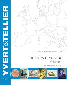 EUROPE Volume 4 - 2020 (Catalogue des timbres des pays d´Europe)