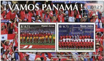 n° 58 - Timbre PANAMA Blocs et feuillets