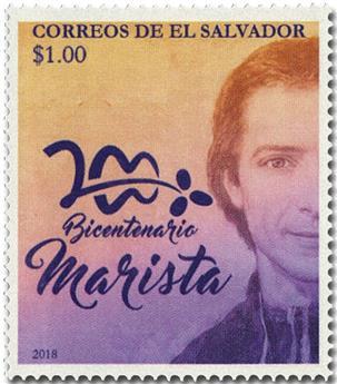 n° 1916 - Timbre SALVADOR Poste