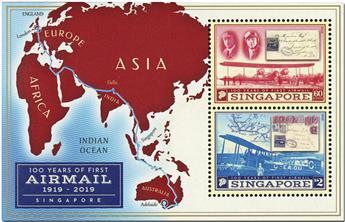 n° 208 - Timbre SINGAPOUR Blocs et feuillets