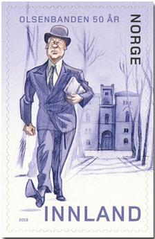 n° 1934 - Timbre NORVEGE Poste
