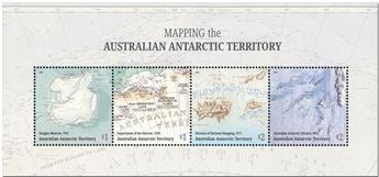 n° 25 - Timbre TERRITOIRE ANTARCTIQUE AUSTRALIEN Blocs et feuillets