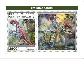 n° 1379 - Timbre CENTRAFRICAINE Blocs et feuillets