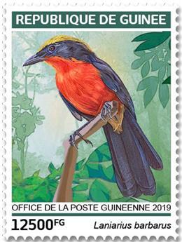 n° 9685/9688 - Timbre GUINÉE Poste