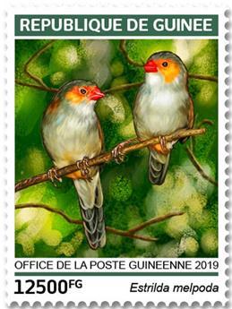 n° 9757/9760 - Timbre GUINÉE Poste