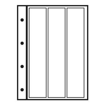 Recharges INITIA : 3 bandes verticales (transparent)