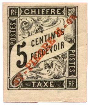 n°1* - Timbre SAINT PIERRE ET MIQUELON Taxe