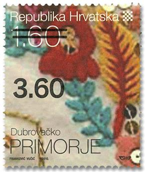 n° 874A - Timbre CROATIE Poste