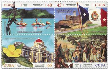 n° 5784/5787 - Timbre CUBA Poste