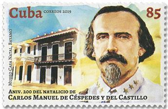 n° 5783 - Timbre CUBA Poste