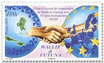 n° 918 - Timbre WALLIS & FUTUNA Poste