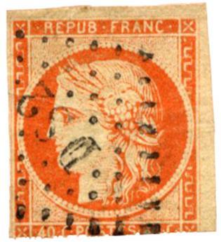 n°5 obl. ST - Timbre FRANCE Poste