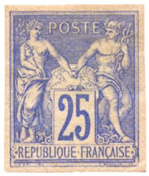 n°78d(*) - Timbre FRANCE Poste
