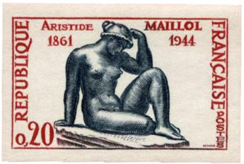 n°1281a** ND - Timbre FRANCE Poste