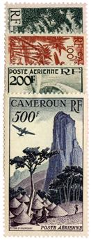 n°38/41* - Timbre CAMEROUN Poste Aérienne