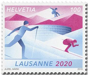 n° 2556 - Timbre SUISSE Poste