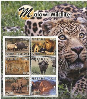 n° 922/927 - Timbre MALAWI Poste
