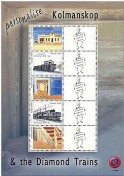 n° 1405A/1405E - Timbre NAMIBIE Poste