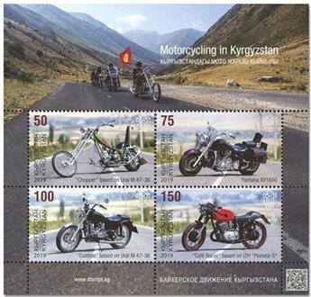 n° 35 - Timbre KIRGHIZISTAN (Kyrgyz Express Post) Blocs et feuillets