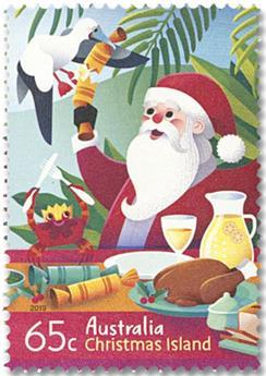 n° 909/910 - Timbre CHRISTMAS (ILE) Poste