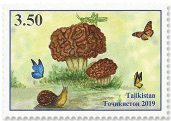 n°624/626 - Timbre TADJIKISTAN Poste