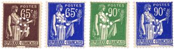 n°284, 365, 367, 368** - Timbre FRANCE Poste