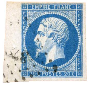 n°14A obl. TB - Timbre FRANCE Poste