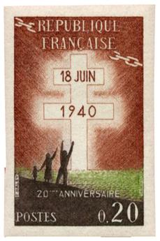 n°1264a** ND - Timbre FRANCE Poste