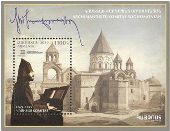 n° 102 - Timbre ARMENIE (Haut-Karabakh) Blocs et feuillets