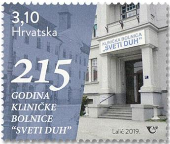 n° 1321 - Timbre CROATIE Poste