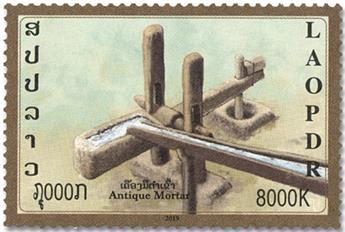 n° 1924/1926 - Timbre LAOS Poste