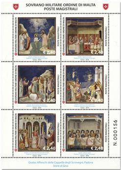 n° 1487 - Timbre ORDRE de MALTE Poste
