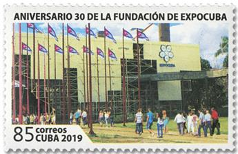 n° 5795 - Timbre CUBA Poste